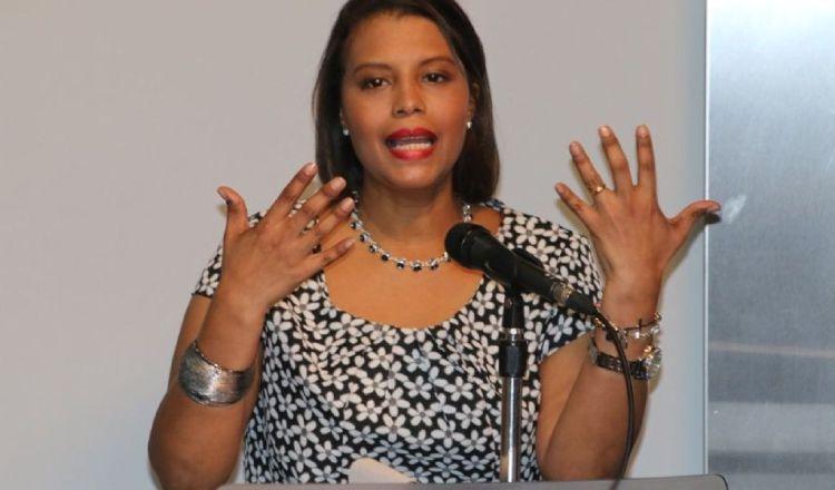 La fiscal Zuleyka Moore ha sido duramente cuestionada por sus actuaciones en el caso Odebrecht. Archivo.