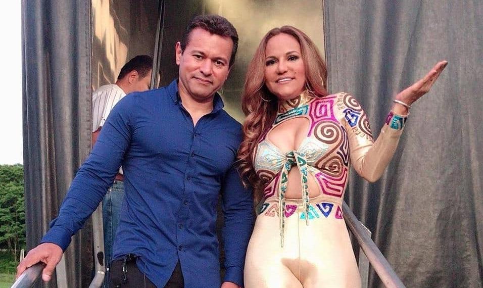 Samy y Sandra Sandoval. Foto. Instagram