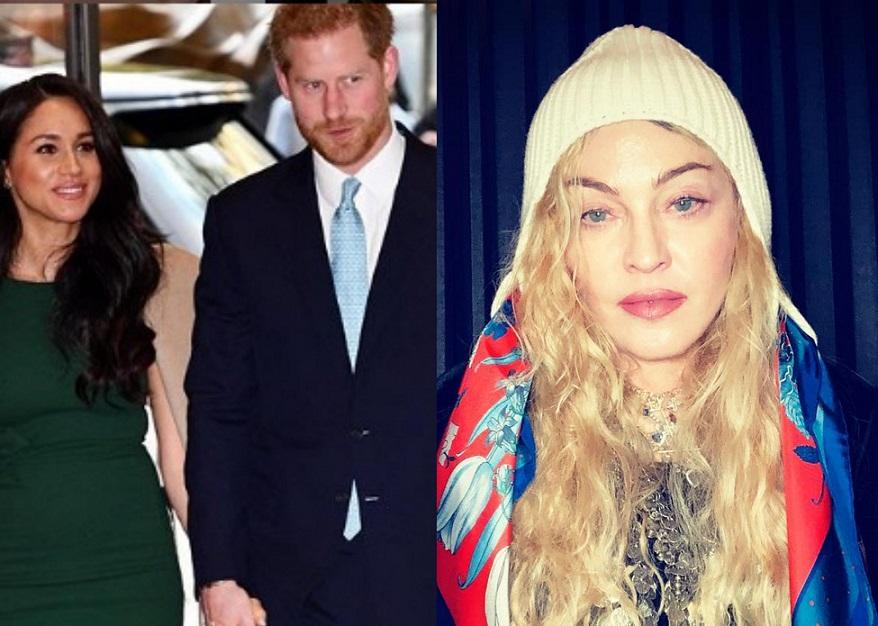 Madonna: 'Hola, Harry, no te vayas a Canadá'. Foto: Instagram