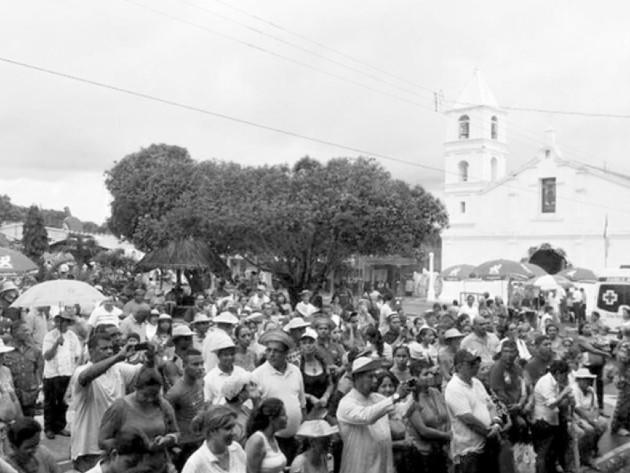 En la ciudad de Guararé se comenzó a celebrar el Festival Nacional de La Mejorana, en 1949, a fines de septiembre. Foto: Archivo. Epasa.