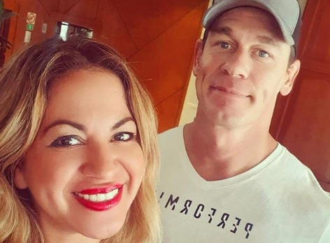 John Cena en Panamá. Foto: Instagram