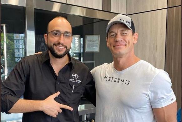 John Cena en Panamá. Foto: Cortesía