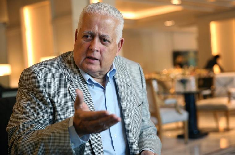 Ernesto 'Toro' Pérez Balladares asegura que el PRD necesita una renovación total para que no muera.