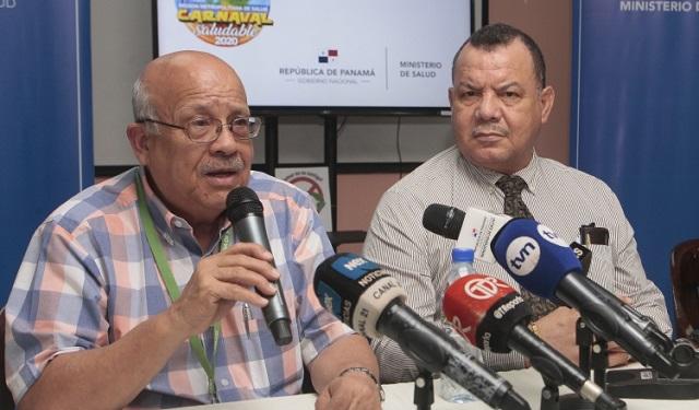 Alfredo Molto, jefe de Salud de la Región Metropolitana, detalló que en el país no se han reportado contagios por el nuevo coronavirus. Foto: Víctor Arosemena