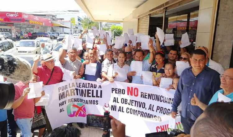 Hay entusiasmo entre integrantes de CD y seguidores de Ricardo Martinelli por la creación de este nuevo partido. Archivo