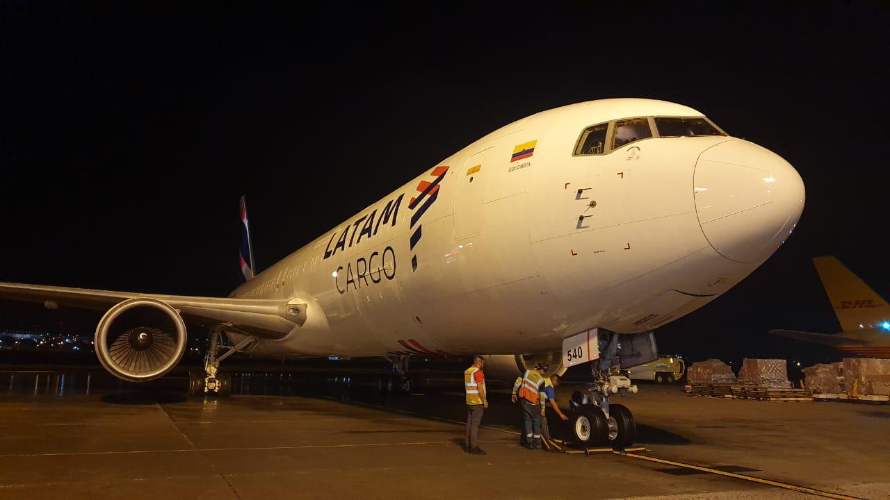 LATAM Cargo se suma a las 16 aerolíneas de carga que actualmente operan en el Aeropuerto Internacional de Tocumen.