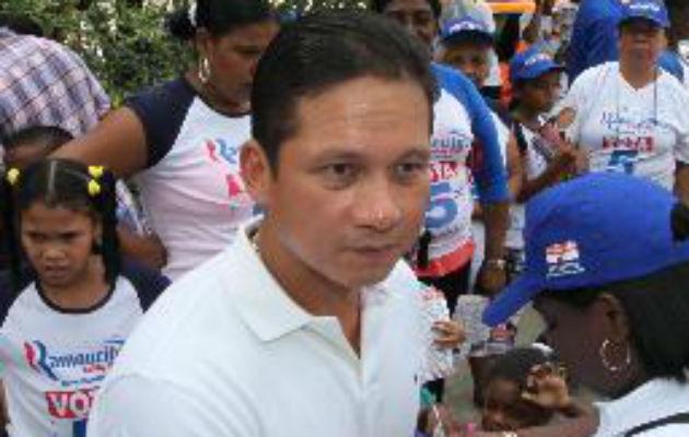 Ramón Ashby Chial se mantiene como representante del corregimiento de Calidonia.