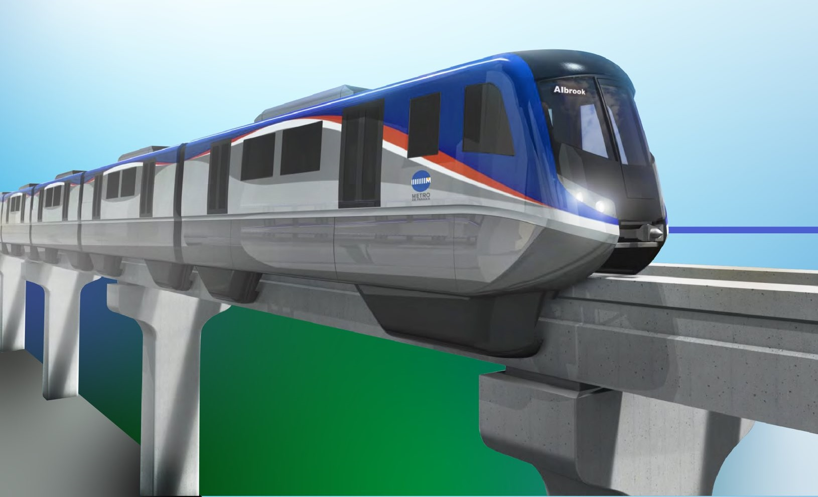 Esta línea contará con 14 estaciones por las que pasará el monorriel, que contará con seis vagones.