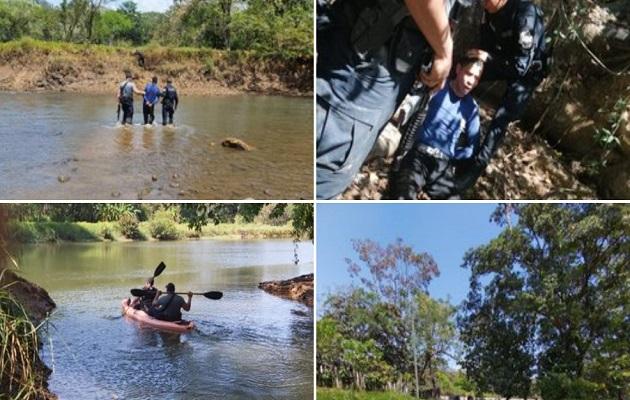 Fue encontrado en Remedios, provincia de Chiriquí. Foto: Minseg