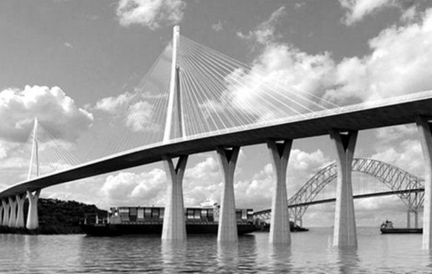 Al eliminar el tren del proyecto, se ven obligados a rediseñar el puente, pero también se ven obligados a cambiar la ubicación de la torre en cuestión para evitar la falla geológica. Foto: Archivo.