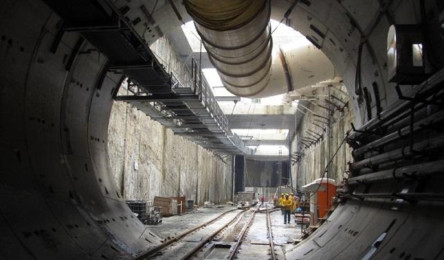 El túnel de la línea tres será de 4 kilómetros de largo y solo se contará con una estación soterrada.