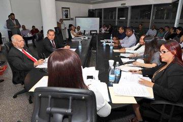 Reunión de la Comisión de Infraestructura de la Asamblea Nacional