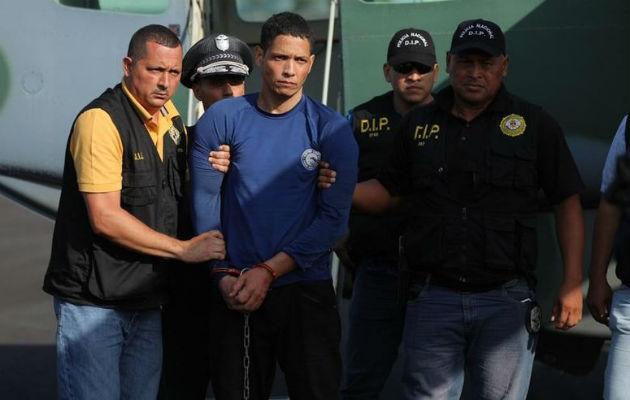 Gilberto Ventura Ceballos fue recapturado el pasado jueves 13 de febrero en Remedios, provincia de Chiriquí. Foto: Policía Nacional.