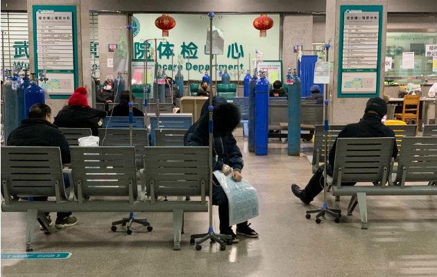 Los críticos en línea han expresado enojo ante la respuesta de Beijing al brote de coronavirus. El Union Hospital en Wuhan, la ciudad al centro del brote. Foto / Chris Buckley/The New York Times.
