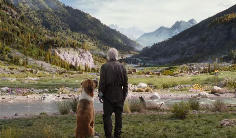 La película 'El llamado salvaje' por estrenar, tiene a Harrison Ford en el reparto.