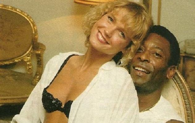 Pelé y Xuxa en los años de amor.