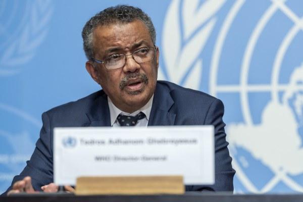 Tedros Adhanom Ghebreyesus, director general de la OMS. FOTO/AP