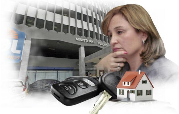 La solicitud de secuestro de los bienes patrimoniales de Porcell fue admitida por la jueza Ana Zita Rowe López. .