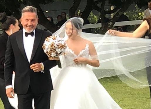 Eva Luna y Ricardo Montaner.