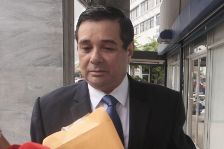 Jorge Alberto Rosas, exdiputado del Partido Panameñista. Foto Víctor Arosemena