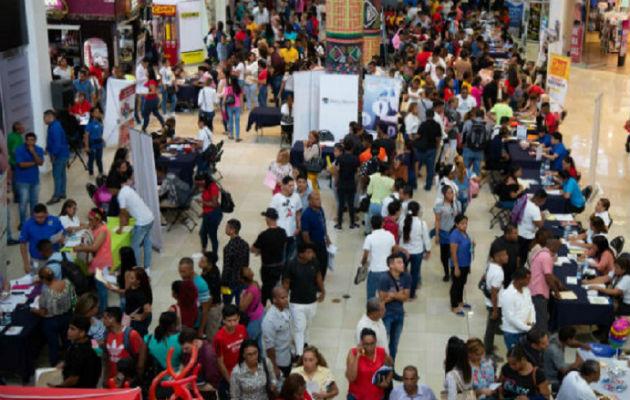 La tasa de desempleo en Panamá se ubica en 7.1 por ciento hasta agosto de 2019.
