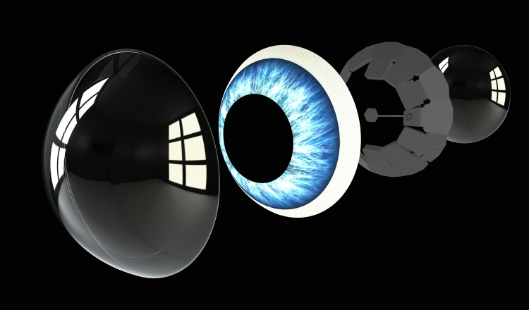 Piezas de lente inteligente MojoLens.