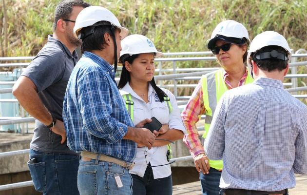 Supervisan el avance de los trabajos que se llevan a cabo en la planta Federico Guardia Conte.