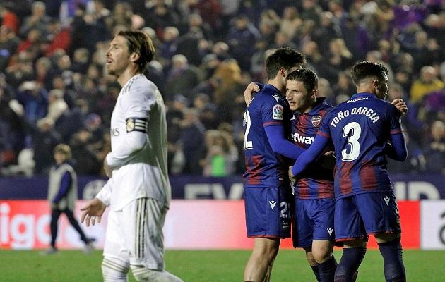 Sergio Ramos lamenta derrota de Real Madrid. Foto:EFE