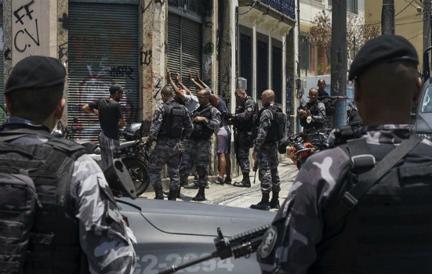 Participan en la operación policías militarizados, civiles y ambientales. Foto: Archivo/Ilustrativa.