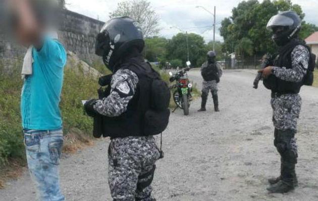 Los detenidos mantenían órdenes de captura por parte de las autoridades correspondientes. Foto: Mayra Madrid.