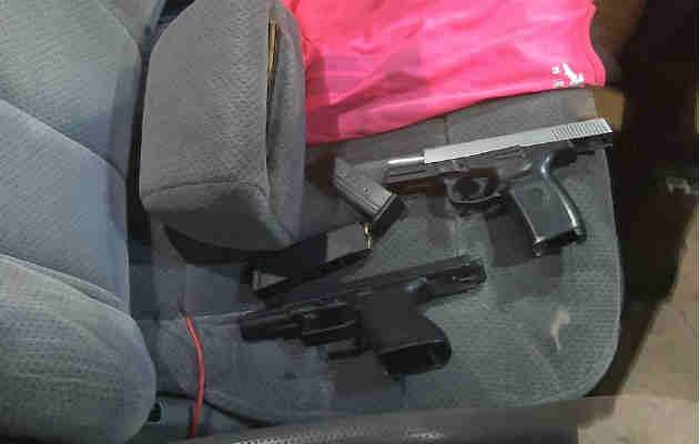 La Policía Nacional recuperó 29 armas de fuego. Foto/Cortesía