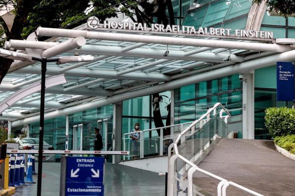 Hospital Albert Einstein, donde fue detectado este martes el primer caso de coronavirus en América Latina. FOTO/EFE