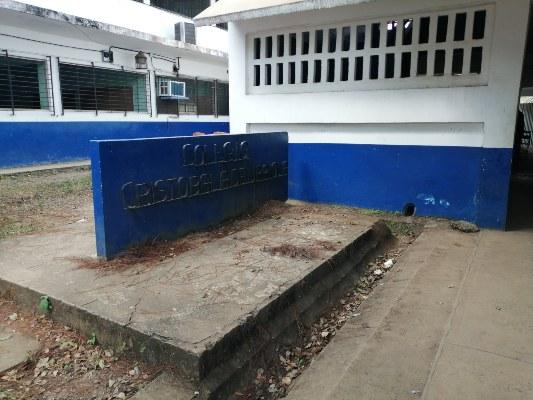 Lentitud por parte de las empresas contratistas para la remodelación de los colegios. FOTO/ERIC MONTENEGRO