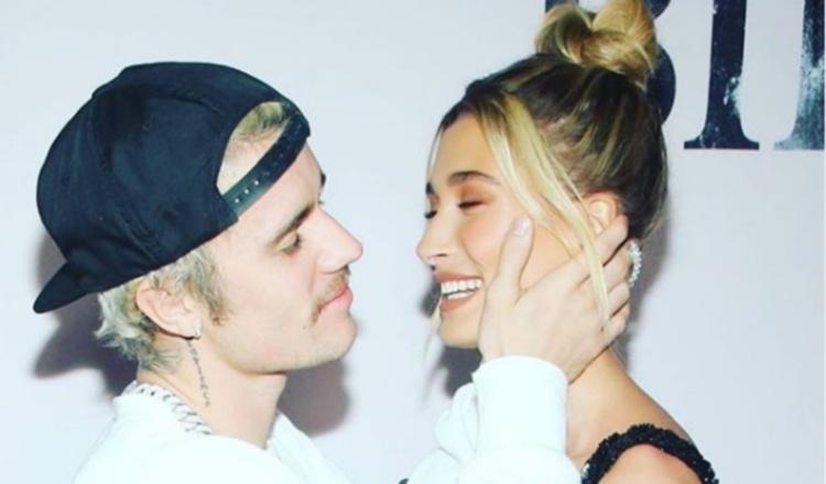 Justin Bieber y Hailey Baldwin. Foto: Instagram