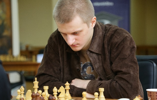 Stanislav Bogdánovich durante una competencia.