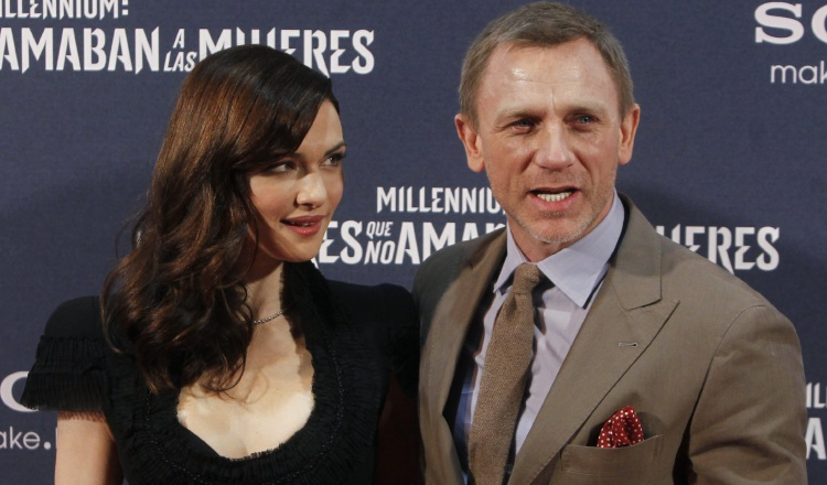 Daniel Craig y su esposa Rachel Weisz.