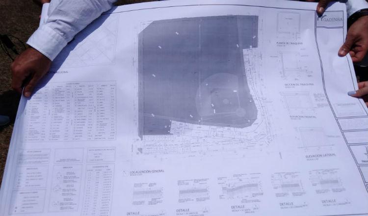 Planos del estadio de béisbol