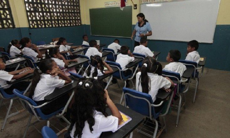 Ministerio de Educación suspende clases por 10 día. Foto/Archivos