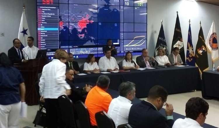 Un muerto, siete nuevos casos y 66 en aislamiento, cifras de coronavirus en Panamá. Foto/Cortesía