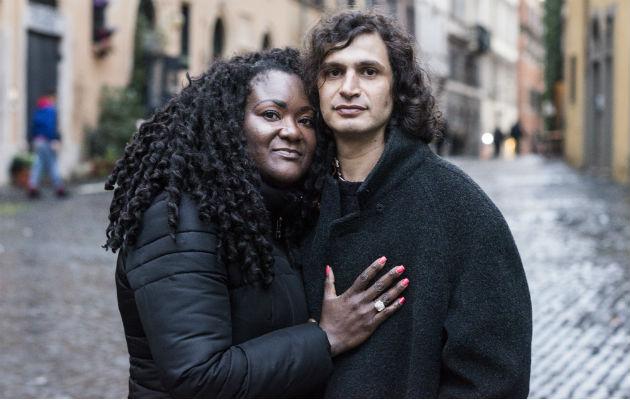 Latrese Williams fue con un grupo a Roma y conoció a su novio. Foto / Susan Wright para The New York Times.