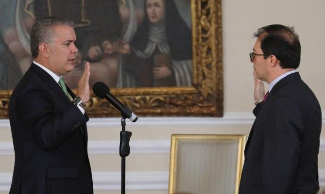El presidente de Colombia Iván Duque ha tomado medidas extremas para defender a los ciudadanos contra el coronavirus. FOTO/EFE