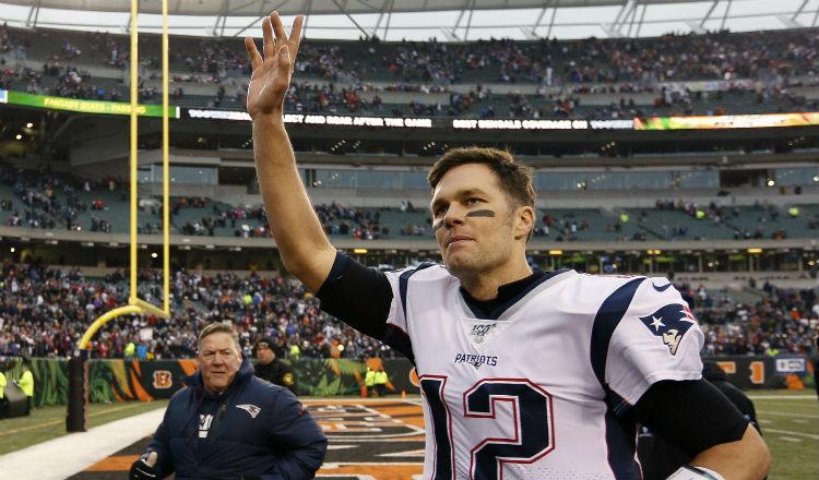 Tom Brady, de 42 años, tiene la intención de jugar hasta los 45, Foto AP