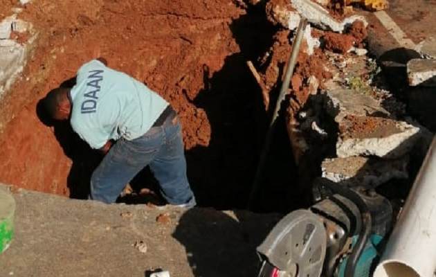Varios sectores en la ciudad capital han reportado falta de agua.
