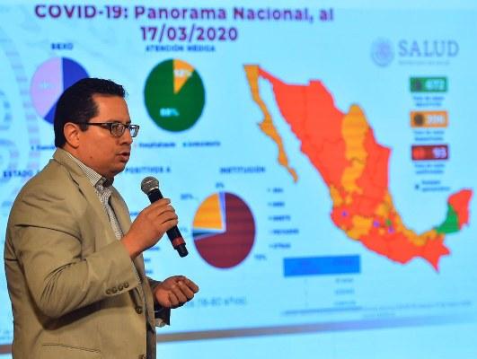 México además le hace frente a la pandemia del coronavirus, y sus casos van en aumento. FOTO/EFE