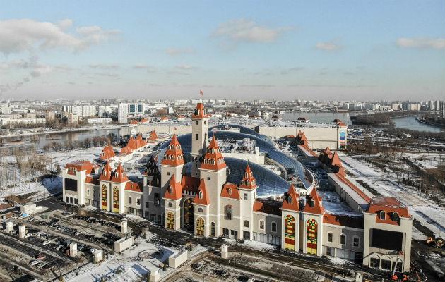 La Isla de los Sueños espera atraer a 7.5 millones de rusos al año, sobre todo a gente de clase media de Moscú. Foto / Maxim Babenko para The New York Times.