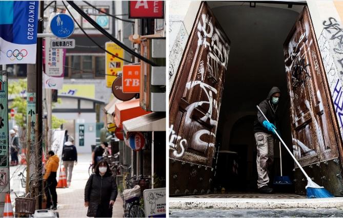 Japón e Italia. Dos escenarios distintos del coronavirus. Fotos/EFE