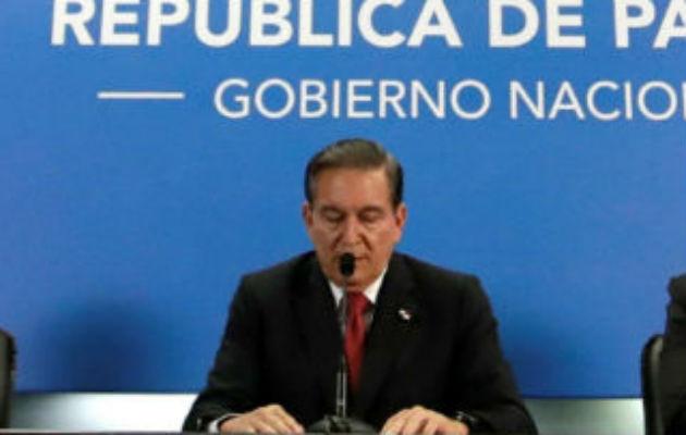 El anuncio de la cuarentena total, en la lucha contra el coronavirus en Panamá, la realizó el presidente Laurentino Cortizo.