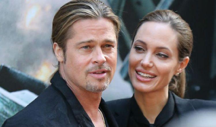 Angelina Jolie y Brad Pitt. Archivo