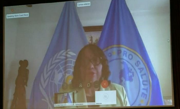 La directora de la OPS tendrá hoy un conversatorio con los ministros de salud de América Latina. Foto de Twitter