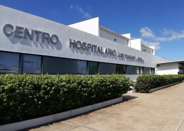 El autobús se mantiene retenido en cuarentena en la sede del hospital de Veraguas. Foto: Archivo/Ilustrativa.